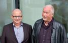 Die neu gewählten Vorsitzenden der TelefonSeelsorge Deutschland: Der Aachener Pfarrer Frank Ertel (links) und Diplom-Theologe Michael Hillenkamp aus Dortmund.
