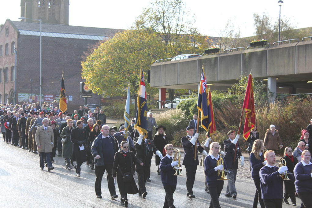 Parade zum Remembrance Day 2014